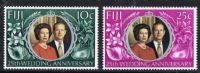 Fiji SG474-475 1972 Wedding set 2v complete unmounted mint